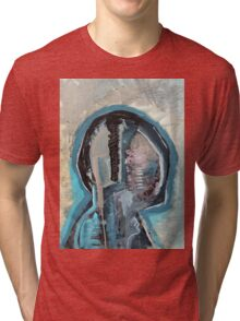 Abstract Anatomy Painting Merch. Tri-blend T-Shirt