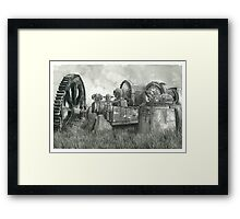 Abandoned Mining Equipment - www.jbjon.com Framed Print