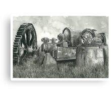 Abandoned Mining Equipment - www.jbjon.com Canvas Print