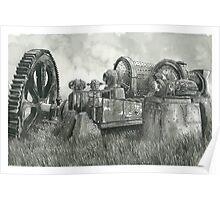 Abandoned Mining Equipment - www.jbjon.com Poster