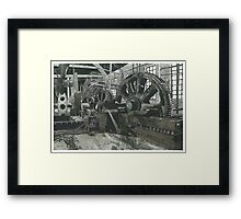 Old Abandoned Factory - www.jbjon.com Framed Print
