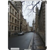Streets of Oxford iPad Case/Skin