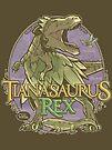 PREHISTORIC PRINCESS - Tianasaurus Rex by Captain RibMan