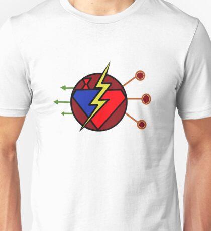 DC TV - Maroon Unisex T-Shirt