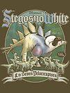 PREHISTORIC PRINCESS - StegosnoWhite & The Seven Velociraptors by Captain RibMan