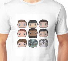 Star Trek Beyond Character Doodle Unisex T-Shirt