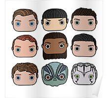 Star Trek Beyond Character Doodle Poster