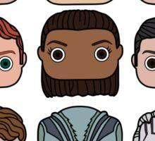 Star Trek Beyond Character Doodle Sticker