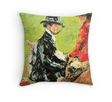 The Foxhunt Throw Pillow