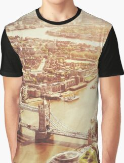 tower bridge aerial Graphic T-Shirt