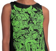 Old Friends - Green Contrast Tank