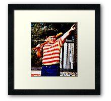 THE GREAT HAMBINO BALLERS SANDLOT Framed Print