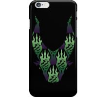 SCORCH pattern ~ Maleficent iPhone Case/Skin