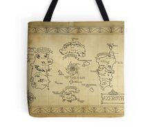 Azeroth map - old hand drawn Tote Bag