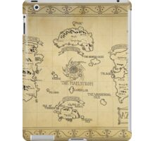 Azeroth map - old hand drawn iPad Case/Skin