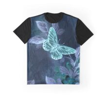 Night Glow Butterfly Graphic T-Shirt
