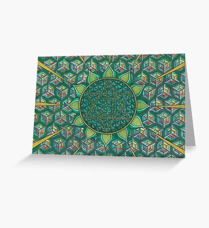 The Heart Chakra Greeting Card