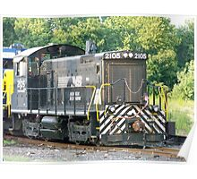 Norfolk Southern Railroad Locomotive SW-1001 #2105 Poster