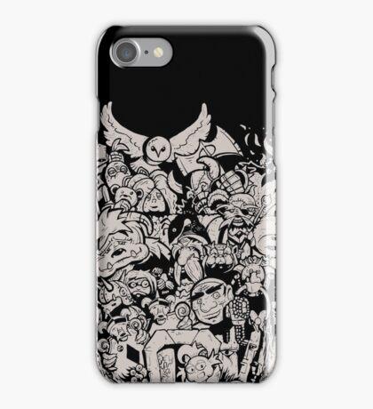 Old Friends - Tan iPhone Case/Skin