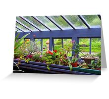 The Greenhouse Effect Greeting Card