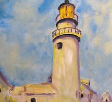 "Study of Charles Hawthorne's ""Lighthouse"" by Susan E Jones"