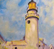 "Study of Charles Hawthorne's ""Lighthouse"" by Susan Elizabeth Jones"
