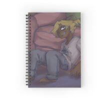 DEL ROBIN BOI Spiral Notebook