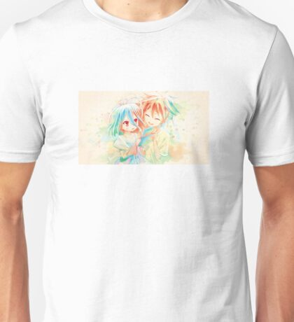 Young Shiro and Sora Unisex T-Shirt