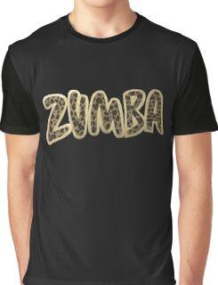 Zumba Leopard Graphic T-Shirt
