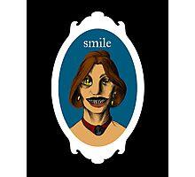 Smile! Photographic Print