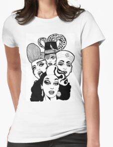 Queens (3) Womens Fitted T-Shirt