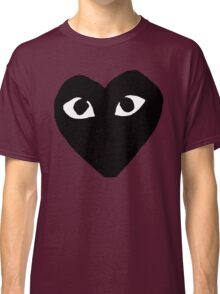 BLACK HEART WHITE EYES BALLERS Classic T-Shirt
