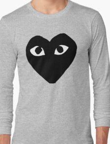 BLACK HEART WHITE EYES BALLERS Long Sleeve T-Shirt