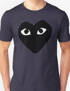 BLACK HEART WHITE EYES BALLERS Unisex T-Shirt