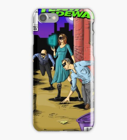 Team Sideways Comic Cover iPhone Case/Skin