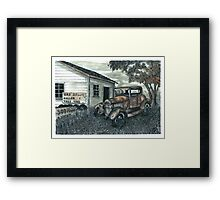 Out of Gas - www.jbjon.com Framed Print