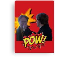 Jim smacks Dwight Canvas Print