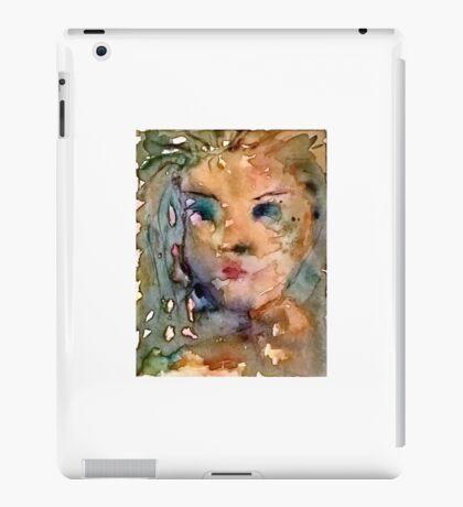 Isla, through the water she appeared.... iPad Case/Skin
