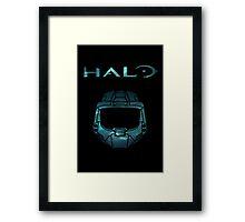 Halo Minimalist Nebula Design Framed Print