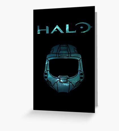 Halo Minimalist Nebula Design Greeting Card