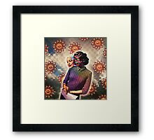 Her Special Abilities Framed Print