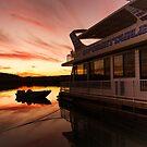 Unforgettable Sun Set by Dave  Hartley