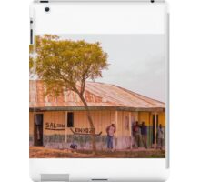 Saloon bar at Melelo, Kenya iPad Case/Skin