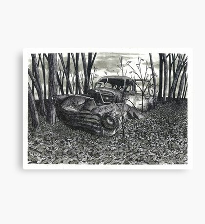 November Discoveries - www.jbjon.com Canvas Print