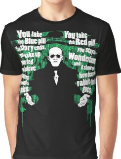 The choice of Morpheus Graphic T-Shirt