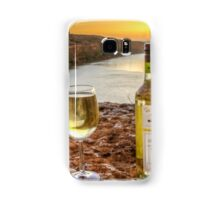 Cliff top wine Samsung Galaxy Case/Skin