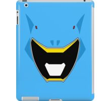 Dino Charge Aqua Power Ranger / Kyoryu Cyan iPad Case/Skin