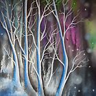 Wondering Blue Trees by Krystyna Spink
