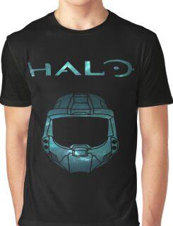 Halo Minimalist Nebula Design Graphic T-Shirt