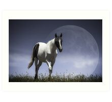 Lunar Horse [Prints, iPhone/iPod cases, Clothing] Art Print